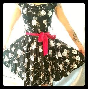 Rockabilly pinup dress
